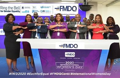 Photo News: FMDQ Group Marks International Women's Day 2020